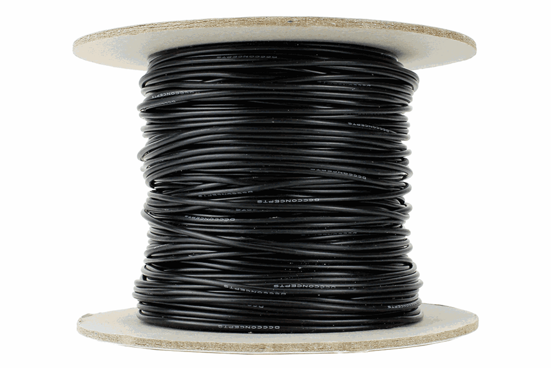 Dropper Wire 50m 26x 0.15 (17g) Black