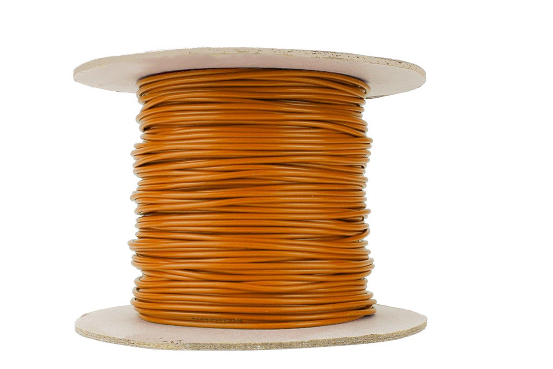 Dropper Wire 50m 26x 0.15 (17g) Orange