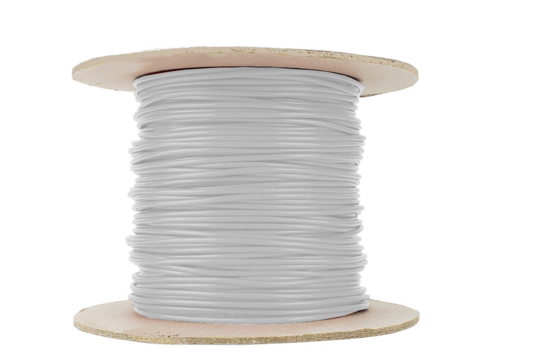 Dropper Wire 50m 26x 0.15 (17g) White