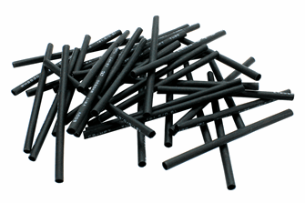 Heat Shrink  Black  (36 Pack)