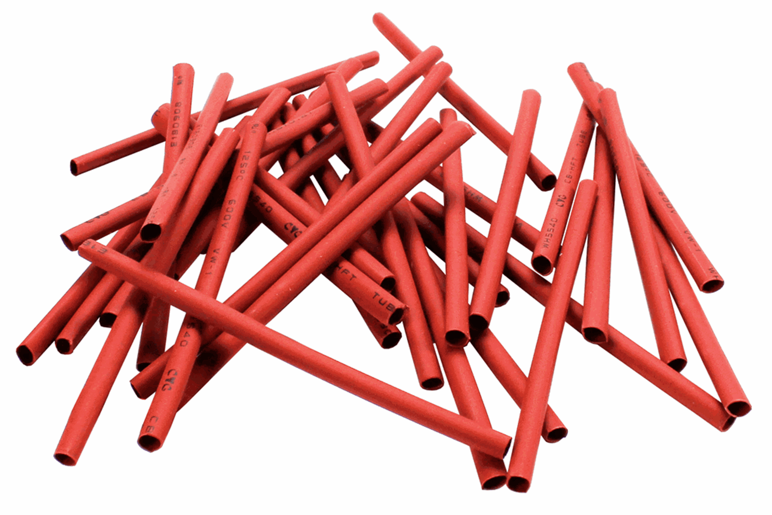 Heat Shrink  Red  (36 Pack)