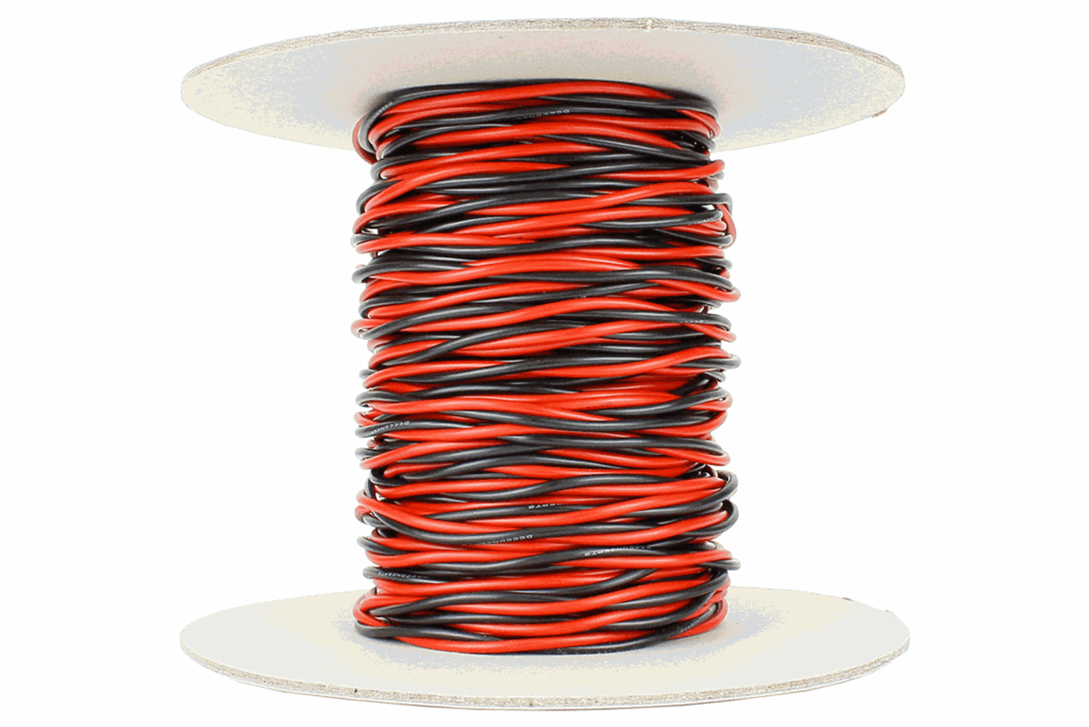 Twisted Bus Wire 25m of 1.5mm (15g) Twin Red/Black