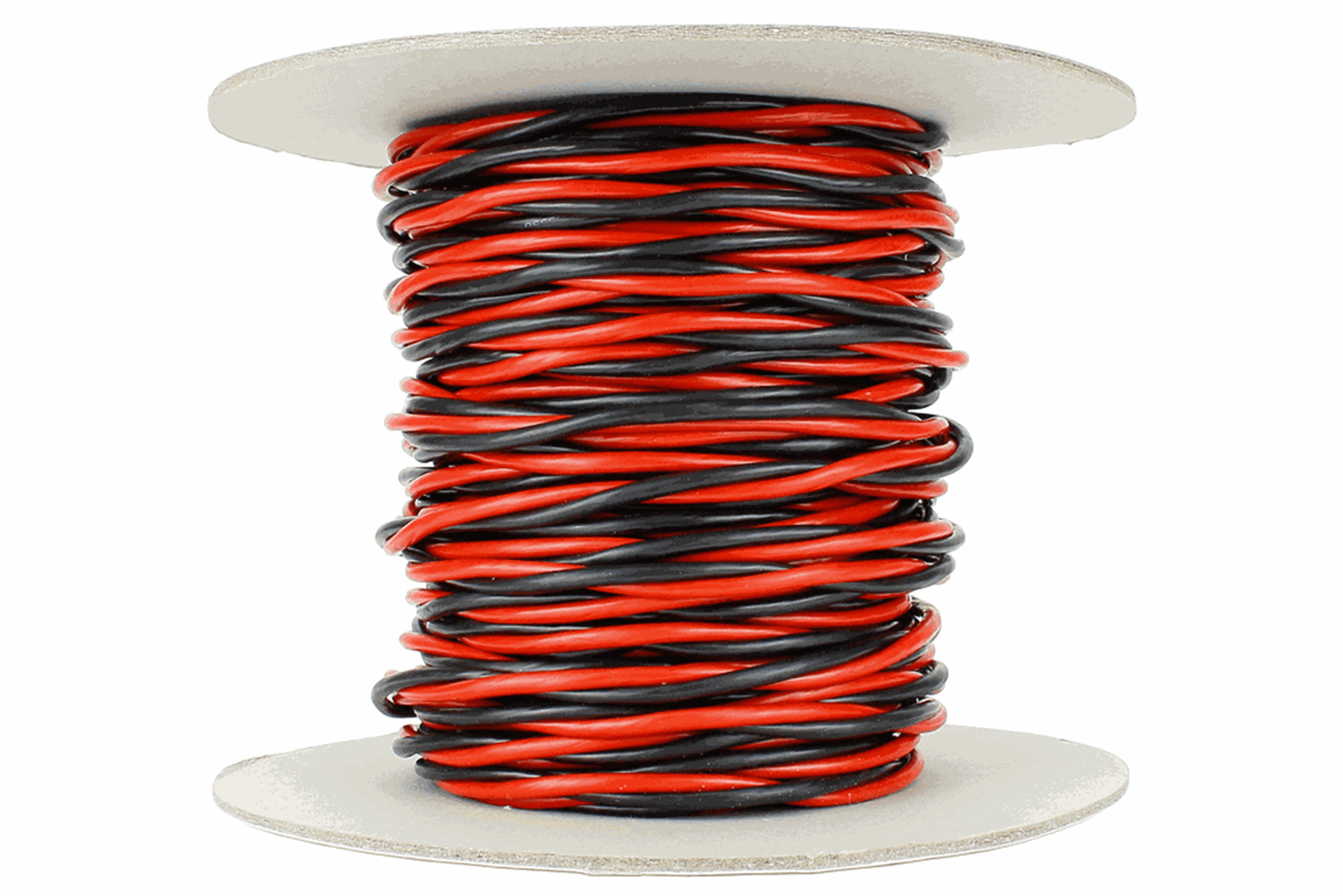 Twisted Bus Wire 25m of 3.5mm (11g) Twin Red/Black