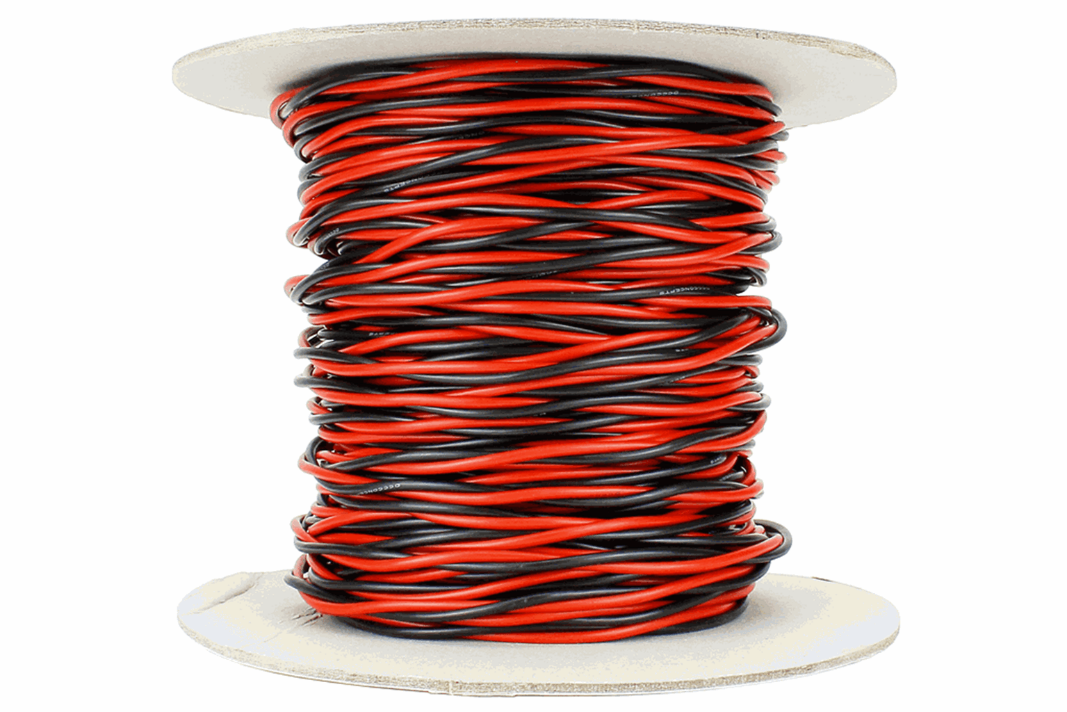 Twisted Bus Wire 50m of 1.5mm (15g) Twin Red/Black