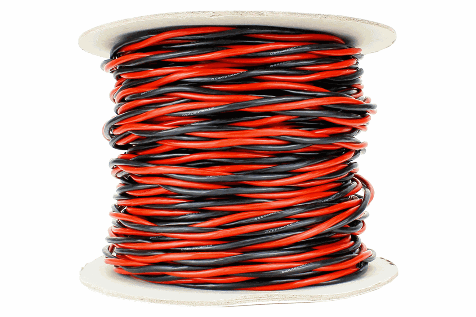 Twisted Bus Wire 50m of 3.5mm (11g) Twin Red/Black