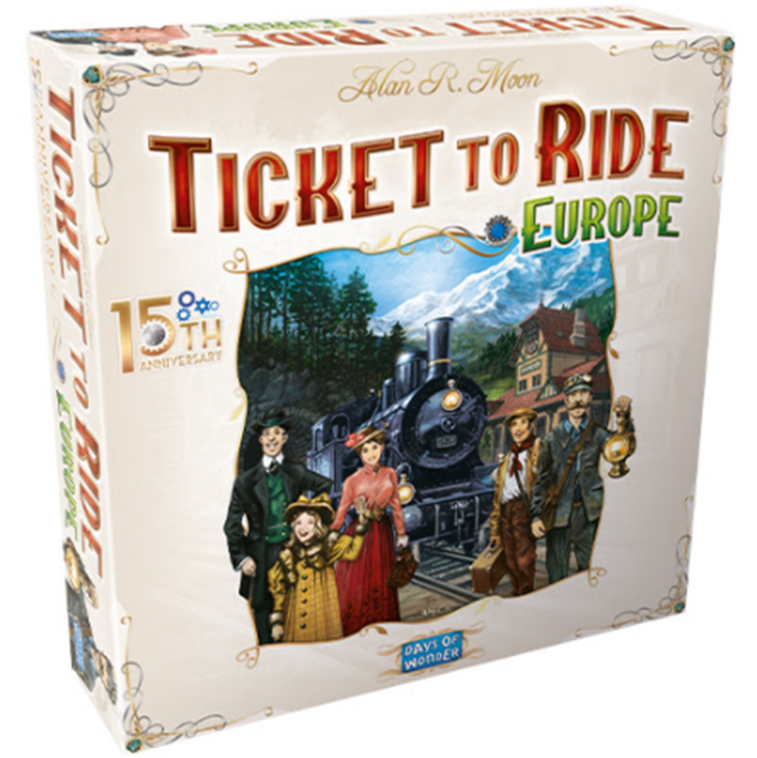 Ticket to Ride Europe - 15th Anniversary Collectors Edition