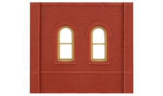 Dock Level Arch Window