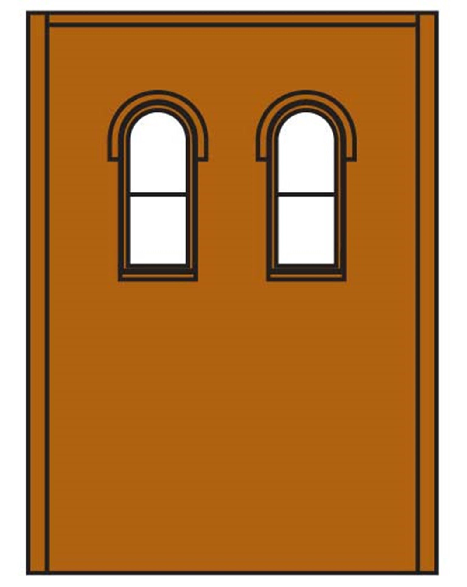 Two Storey Upper Arched 2 Windows