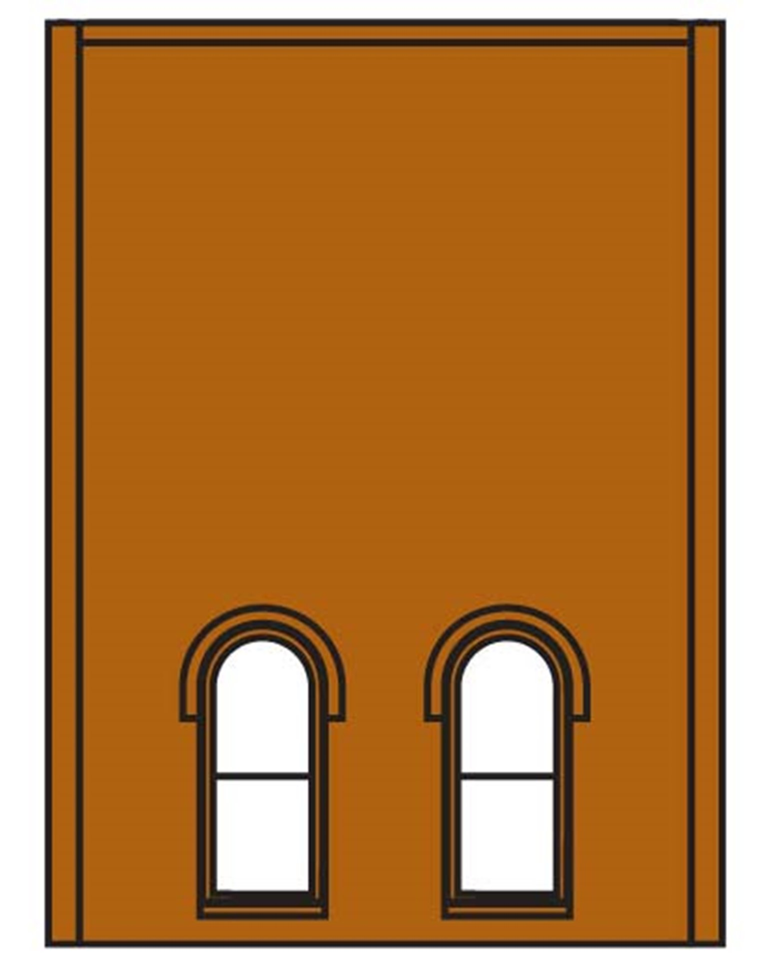 Two Storey Lower Arched 2 Windows