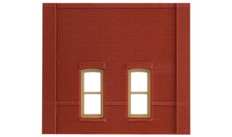 Street Level Rectangular Window