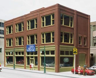 20th Century Storefront Building