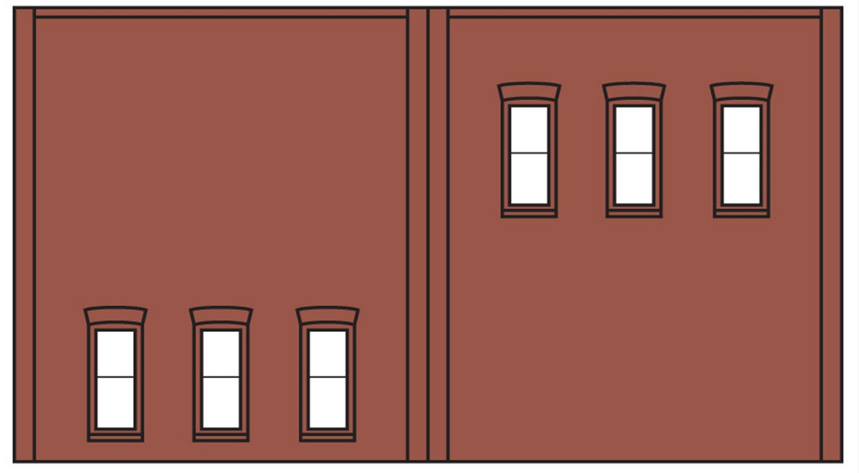 Two Storey 6 Windows