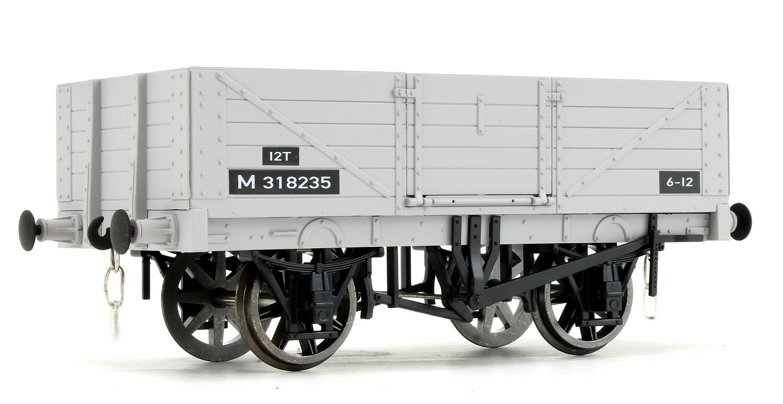 BR Grey 5 Plank Open Wagon No.M318235