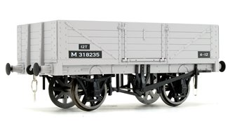 BR Grey 5 Plank Open Wagon No.M318235