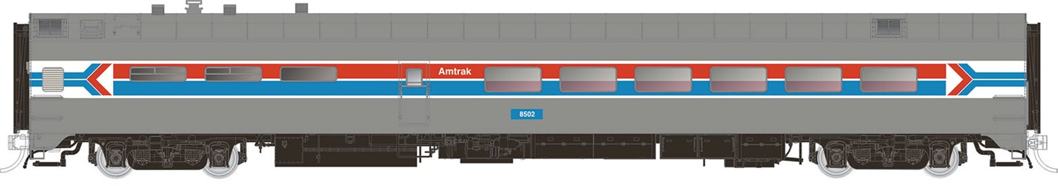 Amtrak (Phase 1) Dining Car #8502
