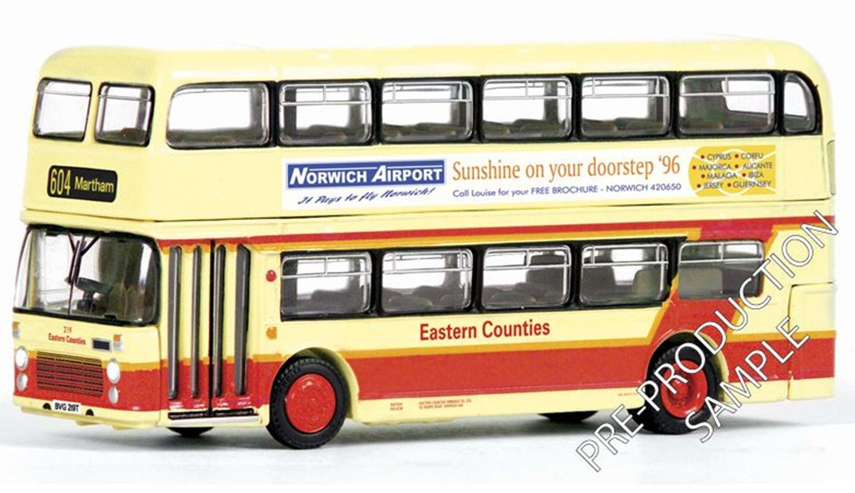 EFE E20457 Bristol VRIII Eastern Counties Martham 604