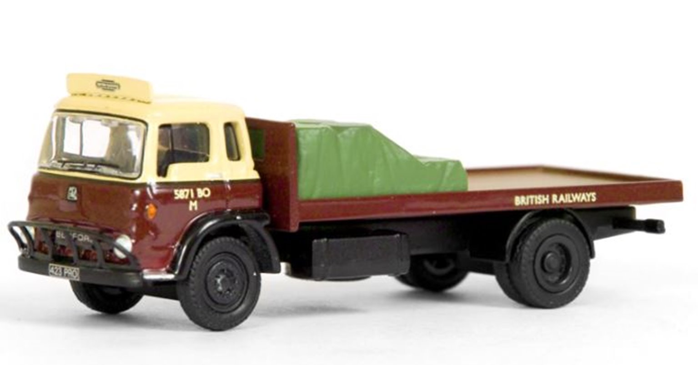 Bedford TK 2 Axle Flatbed Lorry British Railways