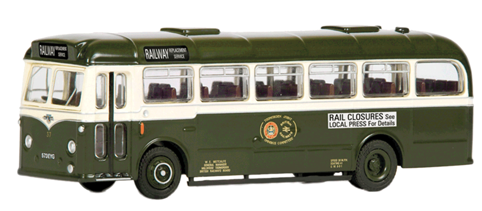 30ft BET Style Leyland Leopard Bus - Todmorden Joint Omnibus Committee *Collectors Club*