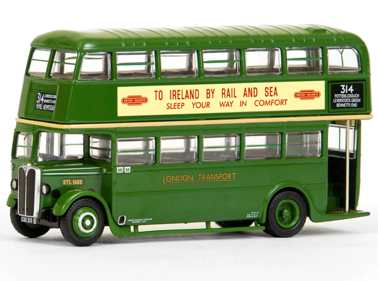 AEC STL (No Roof Box) London Transport