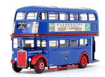 AEC RT Bus Browns Blue Coalville via Barwell (KLB 596)