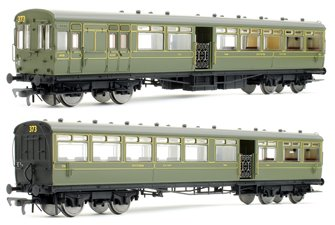 LSWR 'Gate Stock' 2-Coach Set SR Maunsell Green