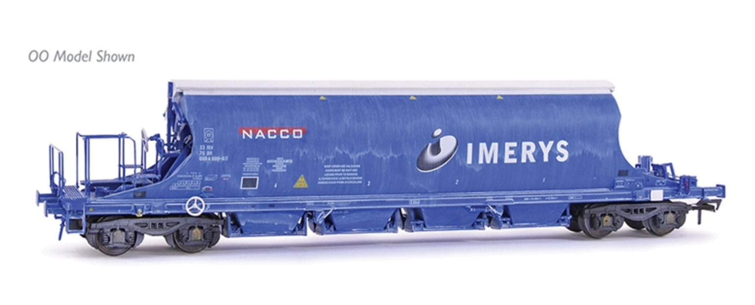 JIA Nacco Wagon 33-70-0894-001-3 Imerys Blue (Lightly Weathered)