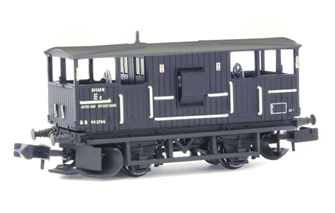 BR 20T 'Shark' Ballast Plough Brake Van BR Departmental Black