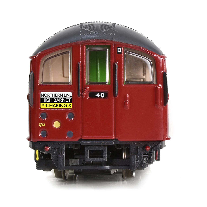 London Underground 1938 Tube Stock, 4-Car Motorised Train - 1960s Northern Line Set