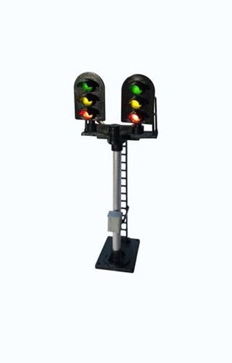 3 ASPECT HOME STANDARD T JUNCTION SIGNAL KIT ROUND HEAD