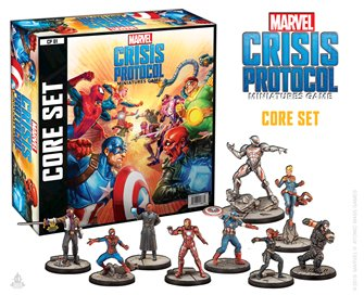 CP01 Marvel Crisis Protocol Core Set