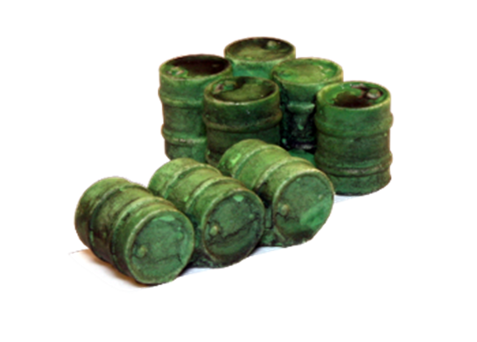 Oil drum groups green (3 & 5)