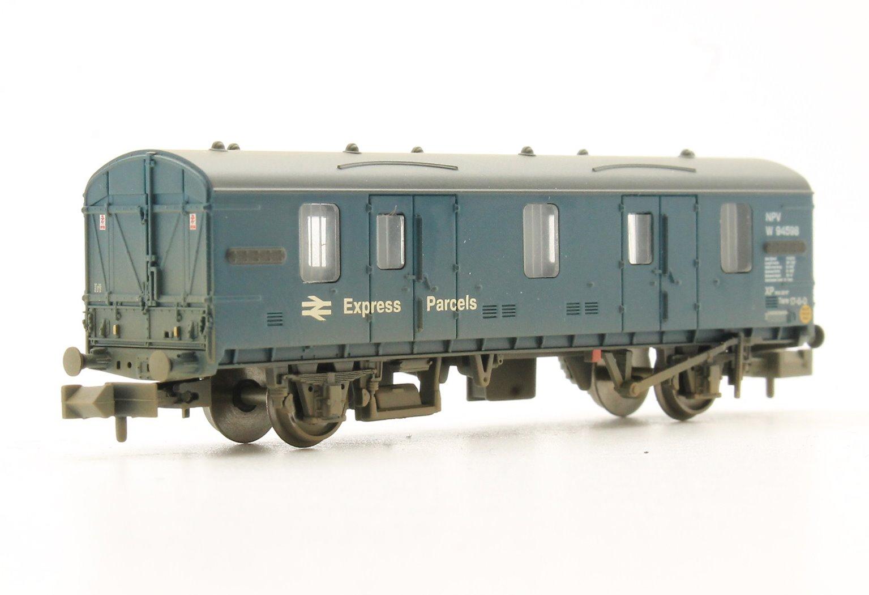 BR MK 1 CCT BR Blue Express Parcels Weathered