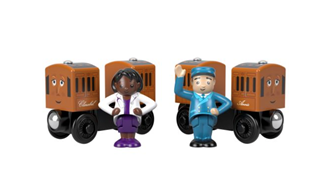 Thomas & Friends Wood Annie and Clarabel Coaches