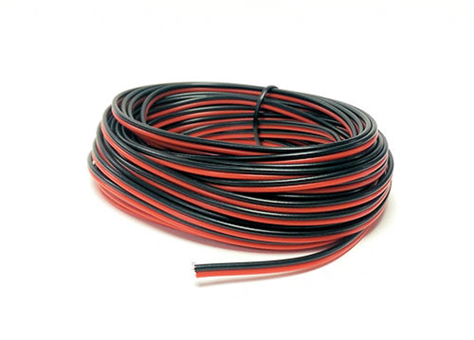 GM09RB Red/Black Twinned Wire (14 x 0.15mm) 10m