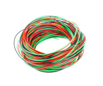 Wire Multi Pack (10m Red/10m Black/10m Green)