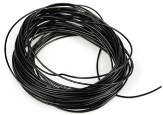 Gaugemaster GM11BK Wire Black 7 x 0.2mm 10 Metres
