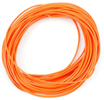 Gaugemaster GM11O Wire Orange 7 x 0.2mm 10 Metres
