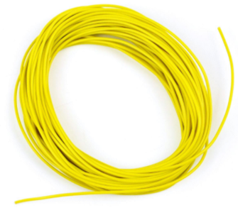 Gaugemaster GM11Y Wire Yellow 7 x 0.2mm 10 Metres