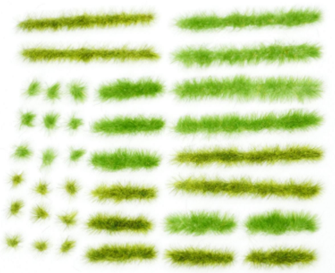 Grass Tufts - Spring (36)