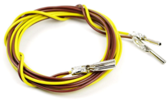 Pair Pin End Connecting Leads