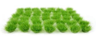 Grass Tufts Mini Set - Green 6mm (42)