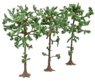 Tree Set - Pine (3)