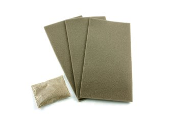 Point & Crossing Grey Ballasted Underlay Kit (3 Sheets)