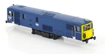 Class 73 - E6039 BR Electric Blue Diesel Locomotive