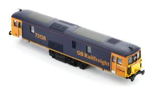 Class 73 136 GB Railfreight Blue/Orange Diesel Locomotive