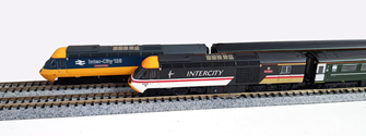 Class 43 HST 43002/185 GWR Final Days Celebrity 4 Car HST Set
