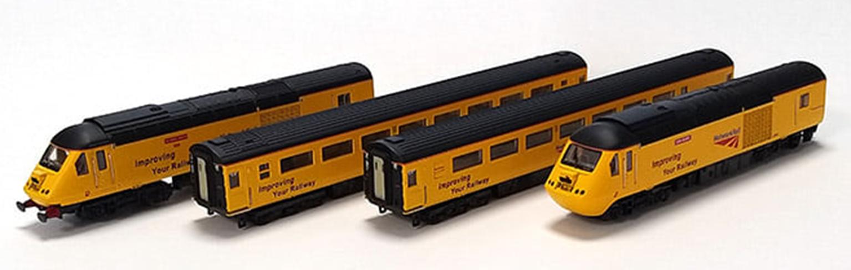 Class 43 HST 43014/062 Network Rail New Measurement Train 4 Car Train Pack