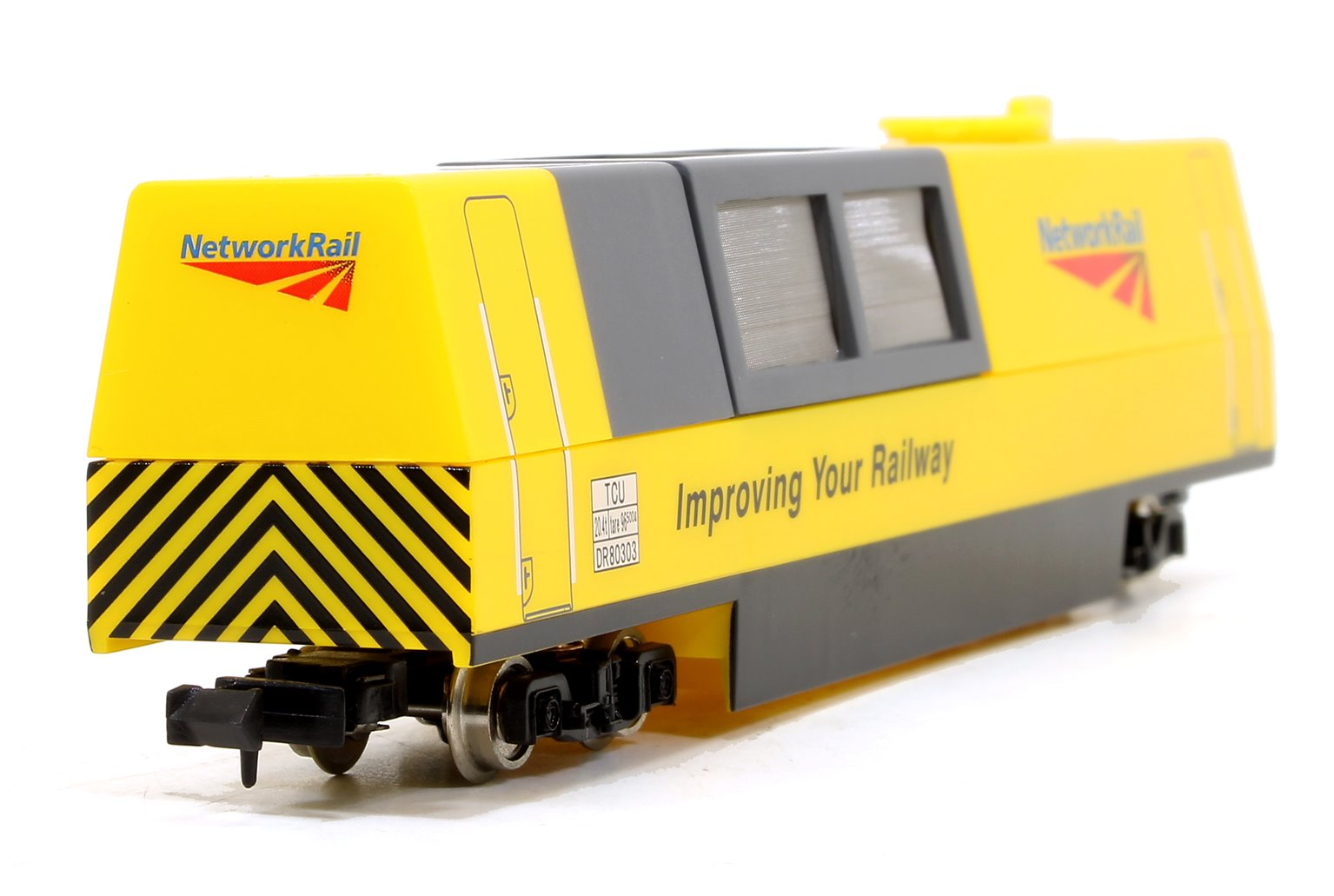 Track Cleaning Vehicle Network Rail Yellow