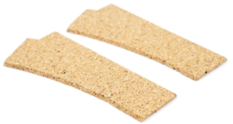 2mm Sectional Track LH Turnout Cork Underlay (2)