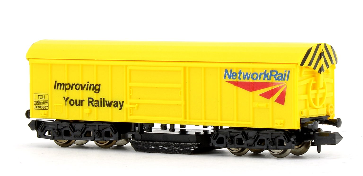 Network Rail Yellow Track Cleaning Wagon